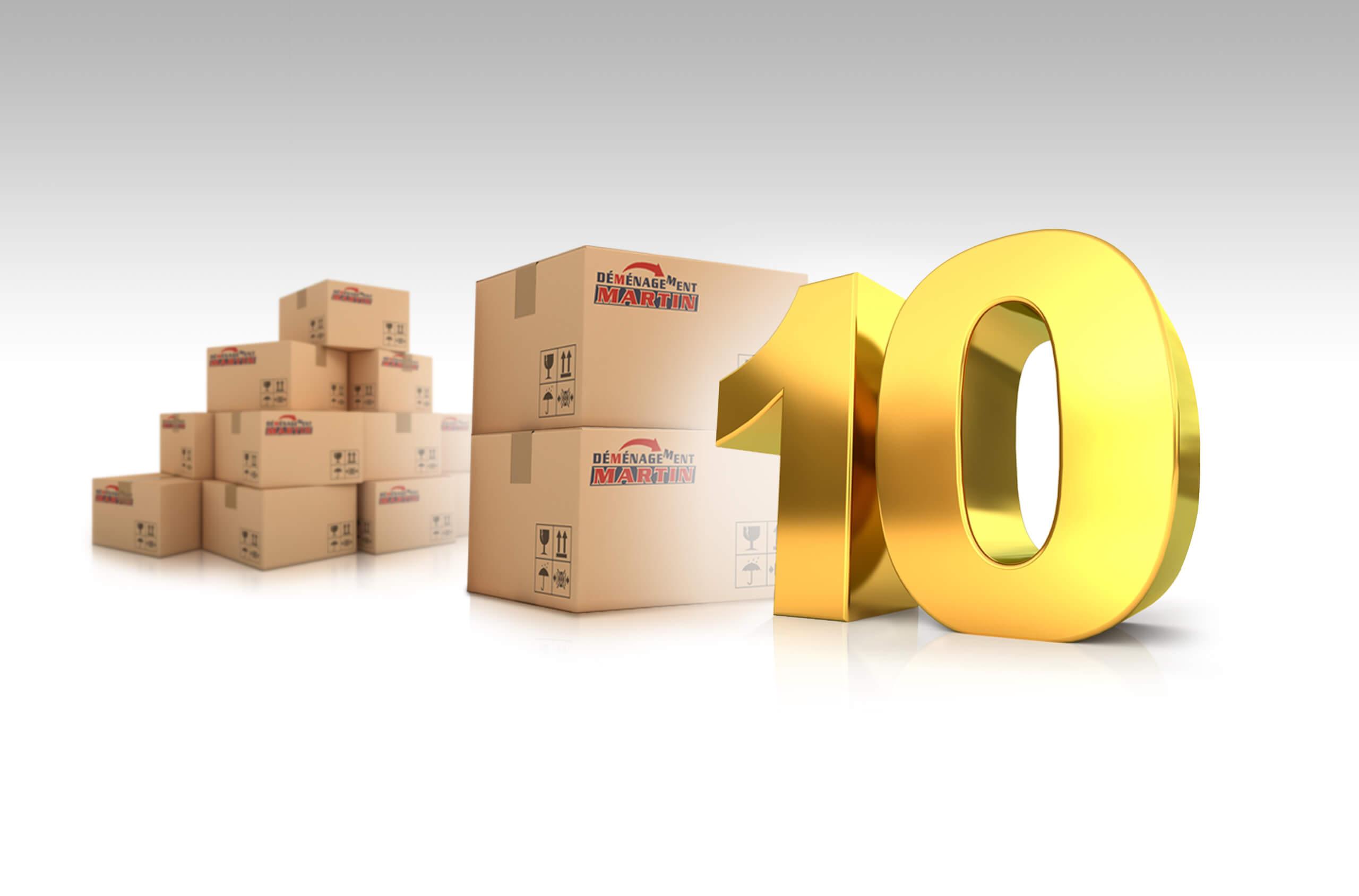 10 règles d'or du déménagement